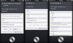 Use Siri as a Calculator