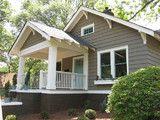 Ideas Exterior House Paint Color Combinations Bungalow White Trim For 2019 Exterior Gray Paint, Exterior Paint Colors For House, Paint Colors For Home, Exterior Colors, Exterior Design, Grey Paint, Painted Foundation, House Foundation, Foundation Colors
