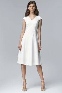 Ecru Midi Dress – Kiss and Belle Boutique