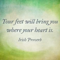 Your feet will bring you where your heart is. #ballet #dance.