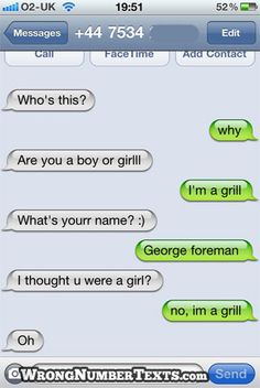 Funniest Wrong Number Texts of 2011