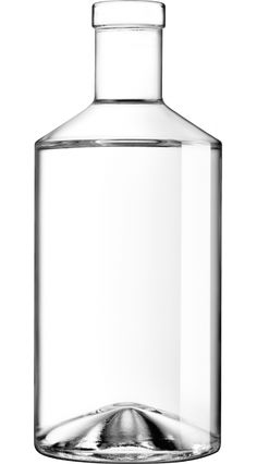 Zadig 75 cl plate white - SAVERGLASS, specialist in the manufacture of glass bottles luxury and high-end