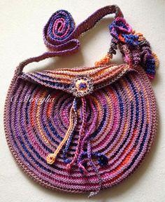Aventures Textiles: Pochette spirale en coton
