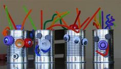 Easy Craft Ideas For Kids - Kids Robots