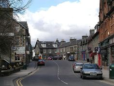 Aberfeldy, Scotland - Stayed here and enjoyed the BEST scones ever at a cute little bakery.  Wish I could have brought some home!