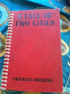Tale of Two Cities Blank Book by Merrittorious on Etsy, $10.00