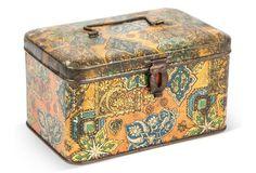 Ornate Tole Box