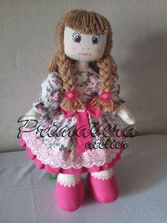 boneca de pano Laura