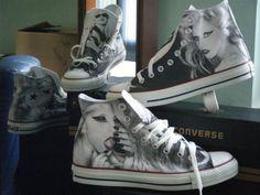 Lady Gaga + Converse = <3