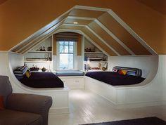 Arredare la camera da letto in mansarda - Arredare la camera da letto in mansarda