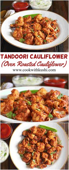 Tandoori Cauliflower or Tandoori Gobi is a spicy and delicious appetizer prepared using yogurt and aromatic spices. This recipe can be served as an evening snack along with tea.  #bhgfood #buzzfeedfood #feedfeed #snack #appetizer #cauliflower #diet #bake #spicy #dinner #christmas