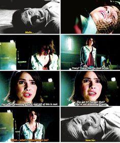 Teen Wolf season 5 - Scott, Malia, and Tracy