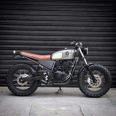 "110 Likes, 4 Comments - Bill Lacerda (@bill_lacerda) on Instagram: ""Yamaha 250 Bendita Macchina  Called ""Lusco Fusco"""""