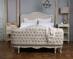 This gorgeous Bed is as as elegant as it is simple.