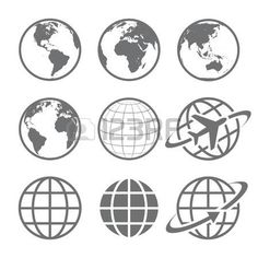 Find Earth Vector Globe Icon Set Set stock images in HD and millions of other royalty-free stock photos, illustrations and vectors in the Shutterstock collection. Thousands of new, high-quality pictures added every day. Free Vector Art, Free Vector Images, Globus Logo, Globus Tattoos, Sailing Tattoo, Earth Logo, African Symbols, Earth Tattoo, Globe Icon
