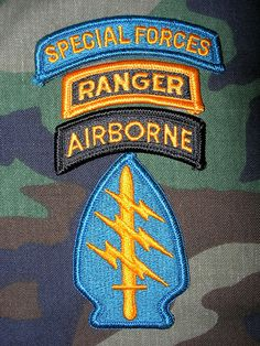 green beret airborne ranger | This was what the A-Team was wearing on the left sleeve of their ...