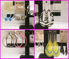 LIMITED LOTS AVAILABLE 977 Pairs Wholesale Fashion Earrings | 100Lot.com