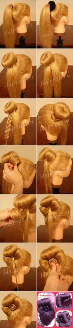 Long Hairstyles for Girls Step By Step Tutorial & Trends with Pictures (6)