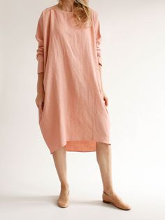 Rachel Craven - Short Cocoon Dress - Dusk