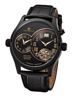 This adventurously designed Paris Theorema timepiece will feel like quality treasure around your wrist, equipped with stunning details and precision to provide Super Deal, Casio Watch, Gentleman, Germany, Black Leather, Mens Fashion, Paris, Tracking Number, Animal Kingdom
