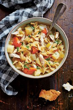 Southern Soups and Stews: Soulful Chicken Soup