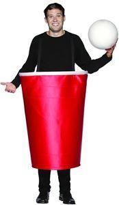 Beer Pong Cup with Ball Costume - 232513 | trendyhalloween.com #oktoberfest #beerpong #funnycostumes #menscostumes