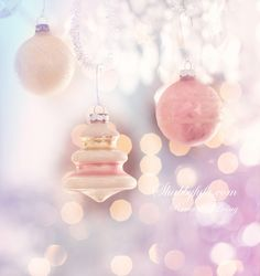 (via Pastel Christmas Frosted Christmas Tree, Pink Christmas Ornaments, Pink Christmas Decorations, Christmas Love, Christmas Colors, Beautiful Christmas, Merry Christmas, Minimal Christmas, Purple Christmas