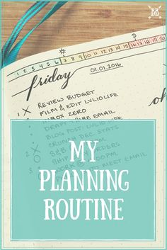 I'm walking you through my bullet journal planning routine step by step