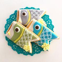 ワカナ's dish photo こいのぼり アイシングクッキー こどもの日  こいのぼり 端午の節句 5月5日 アイシングクッキー sugarholic  浦和 | http://snapdish.co #SnapDish