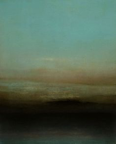Richard Whadcock (b.1967, UK) - Eves Last | East Sussex Coast. [more Richard Whadcock | artist found at mondonoir]