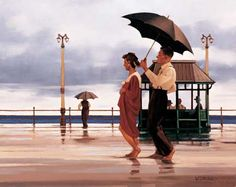 Jack Vettriano The Shape Of Things To Come oil painting for sale