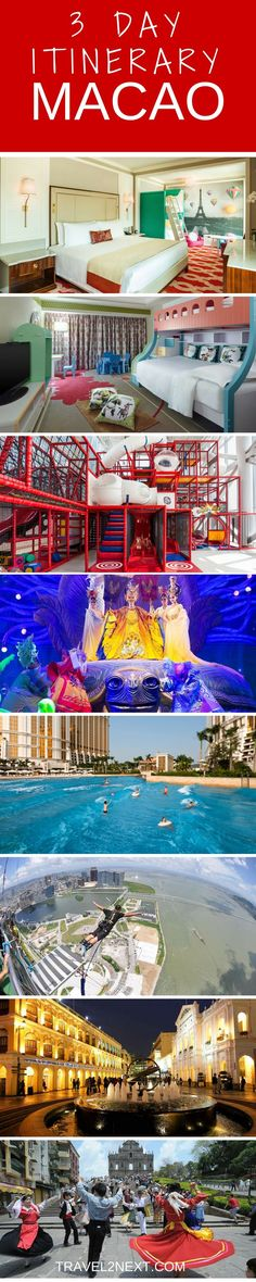 Macau Itinerary – Three days with the family. If you're thinking about holidaying in Asia with the family, it's worth taking a closer look at Macao, which is a Special Administrative Region of China packed with family-friendly attractions.