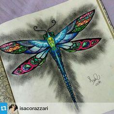 "97 Likes, 2 Comments - Colorindo Livros  (@colorindolivros) on Instagram: ""#Repost @isacorazzari ・・・  #florestaencantada"""