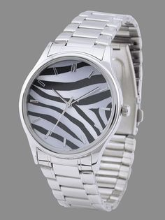 Zebra Stripes Watch