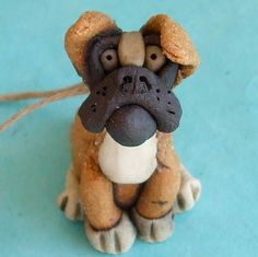 Boxer Dog Ornament for boys' tree