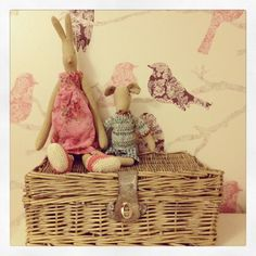 Maileg bunny and mouse