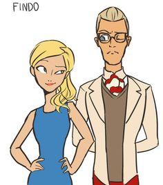 Adrien's mum and dad