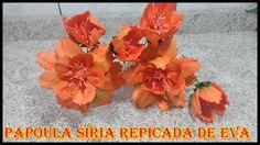 Neste tutorial você ira aprender de um jeito rápido e fácil de fazer a flor PAPOULA SÍRIA REPICADA de eva e também uma ótima maneira  de você obter uma renda EXTRA