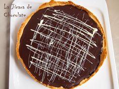 Tarta de Chocolate, Avellanas y Caramelo Salado Con y Sin Gluten