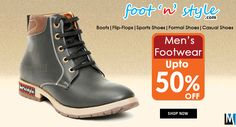 Buy Foot n Style #Boots #online at Best prices in India. Check out huge range of Foot n Style #Shoes online at Myshopbazzar.com
