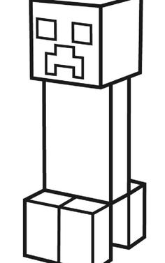 minecraft creeper coloring pages printable Minecraft Coloring Pages, Train Coloring Pages, Monster Coloring Pages, Horse Coloring Pages, Pokemon Coloring Pages, Coloring Pages For Boys, Free Printable Coloring Pages, Minecraft Drawings, Minecraft Pictures
