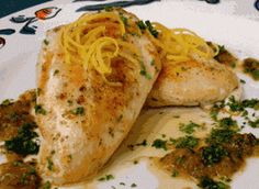 Las Recetas de Pumuki: Pollo al limon con ajo