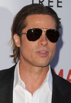 30172c0e240 Brad Pitt May 2011 LA Brad Pitt Sunglasses