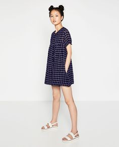 SHORT BUTTONED JUMPSUIT-View All-DRESSES-WOMAN | ZARA United States