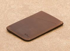 BELLROY CARD SLEEVE WALLET IN COCOA | LOCAL FIXTURE