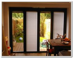 A Built In Patio Door Blinds Has A Charm Of Its Own. There Are Other Patio  Door Treatments, But A Built In Feature Is Special Because It Brings A Rare  ...