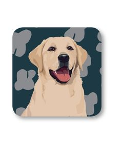 Labrador Single Coaster