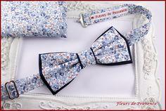 Set Noeud Papillon double Boutons de manchette et Pochette