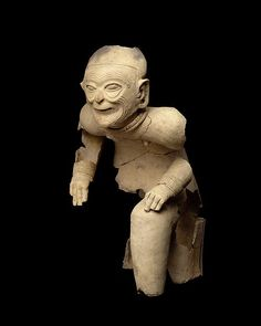Seated Ceramic Figure, Tolita-Tumaco Culture, Ecuador, c.1st Century BC/AD.