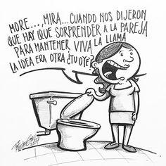 Por  @poteleche  #pelaeldiente  #feliz #comic #caricatura #viñeta #graphicdesign #funny #art #ilustracion #dibujo #humor #sonrisa #creatividad #drawing #diseño #doodle #cartoon #amor